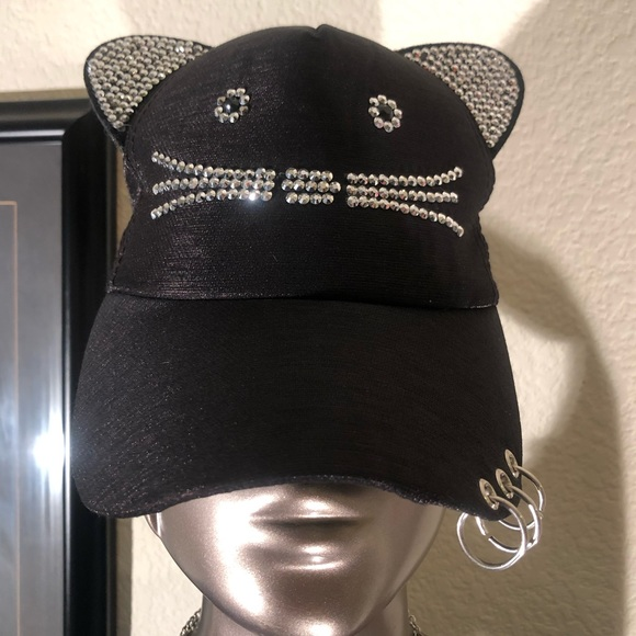 CALIFORNIA Women/'s Denim Baseball Cap Fashion Bling Rhinestone Studded Crystal